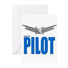 Satellite Pilot Greeting Cards (Pk of 10)