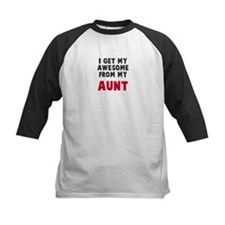 Awesome from aunt Baseball Jersey
