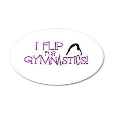I Flip for Gymnastics Wall Decal