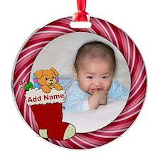 Add Photo Round Ornament