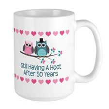 50th Anniversary Owl Gift Mugs