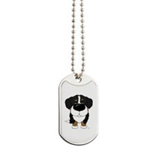 Big Nose Berner Dog Tags