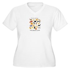 Too Many Cats! Plus Size T-Shirt