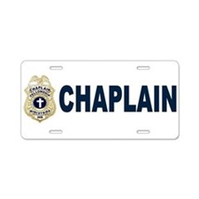Cute Chaplain Aluminum License Plate