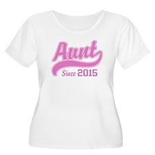 Aunt Since 20 T-Shirt