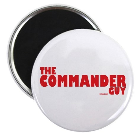The Commander Guy Magnet