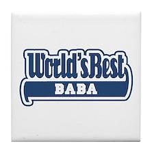 WB Dad [Worldwide] Tile Coaster