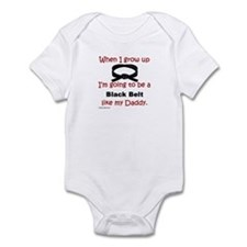 Funny Martial arts Infant Bodysuit