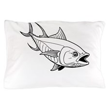 Tuna Fish Pillow Case