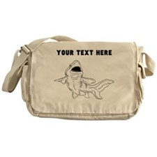 Custom Nurse Shark Messenger Bag