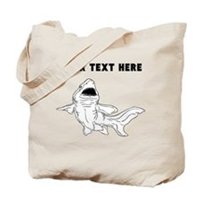 Custom Nurse Shark Tote Bag