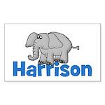 Elephant - Harrison Rectangle Sticker