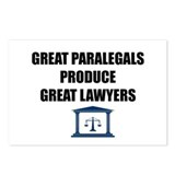 Great Paralegals Postcards (Package of 8)