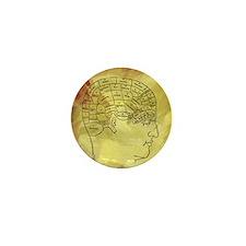 Brain Map Mini Button
