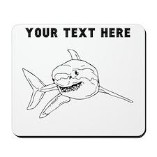 Custom Great White Shark Mousepad