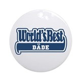 WB Dad [Turkmen] Ornament (Round)