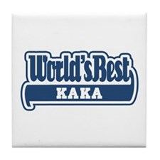 WB Dad [Turkmen] Tile Coaster