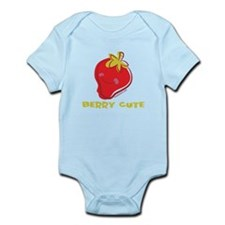Cute Cute strawberry Infant Bodysuit