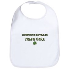 Everyone Loves an IRISH GIRL Bib