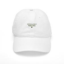 Everyone Loves an IRISH GIRL Baseball Cap