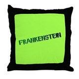 FRANKENSTINE LIVING ROOM THROW PILLOW