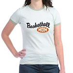 Basketball Mom Jr. Ringer T-Shirt
