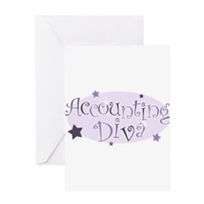 Unique Accountant Greeting Card