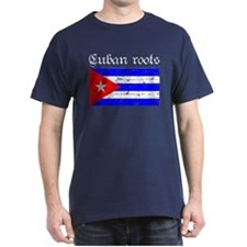 Cuban roots, distressed desig T-Shirt