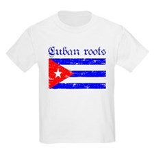 Cuban roots, distressed desig T-Shirt