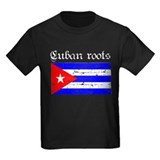 Cuban roots, distressed desig T