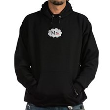 Mr with heart dot on cloud (Mr and Mrs set) Hoodie