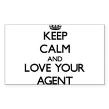 Keep Calm and Love your Agent Decal