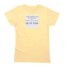 End the Stigma Girl's Tee