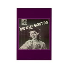 Women in WWII Rectangle Magnet (10 pack)