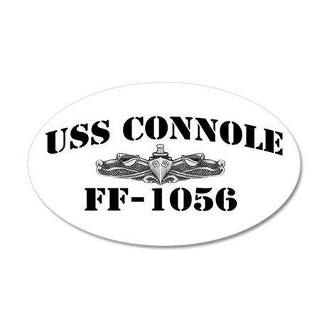 USS CONNOLE 20x12 Oval Wall Decal