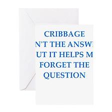 cribbage Greeting Cards