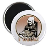 "I Rock!... 2.25"" Magnet (10 pack)"