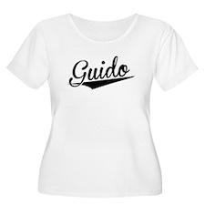 Guido, Retro, Plus Size T-Shirt