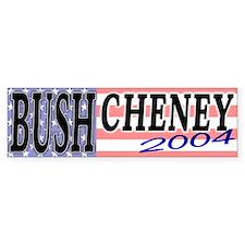 Bush Cheney 2004 Pro-Bush Bumper Bumper Sticker