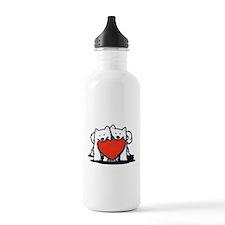German Spitz Duo Water Bottle