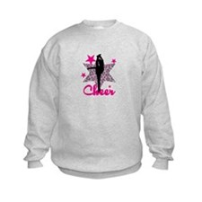 Pink Cheerleader Sweatshirt