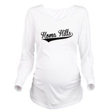 Homa Hills, Retro, Long Sleeve Maternity T-Shirt