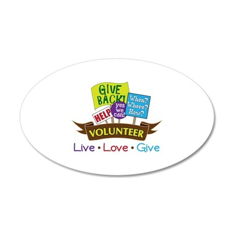 Live.Love.Give Wall Decal