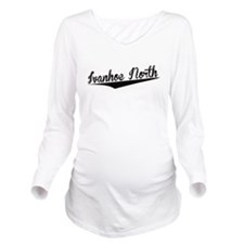 Ivanhoe North, Retro, Long Sleeve Maternity T-Shir