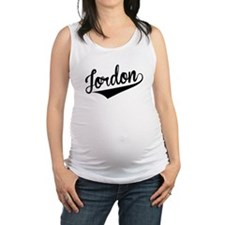 Jordon, Retro, Maternity Tank Top
