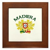 Madiera, Portugal Framed Tile
