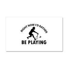 Badminton designs Car Magnet 20 x 12