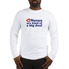 Cute Nurse Long Sleeve T-Shirt