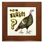 Got Turkey? Framed Tile