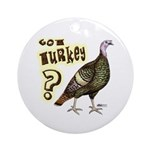 Got Turkey? Ornament (Round)